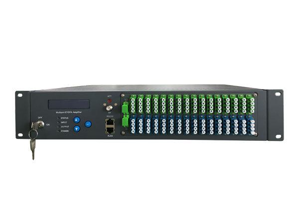 SPA-64-XX 64 Port Built-in WDM High Power EDFA