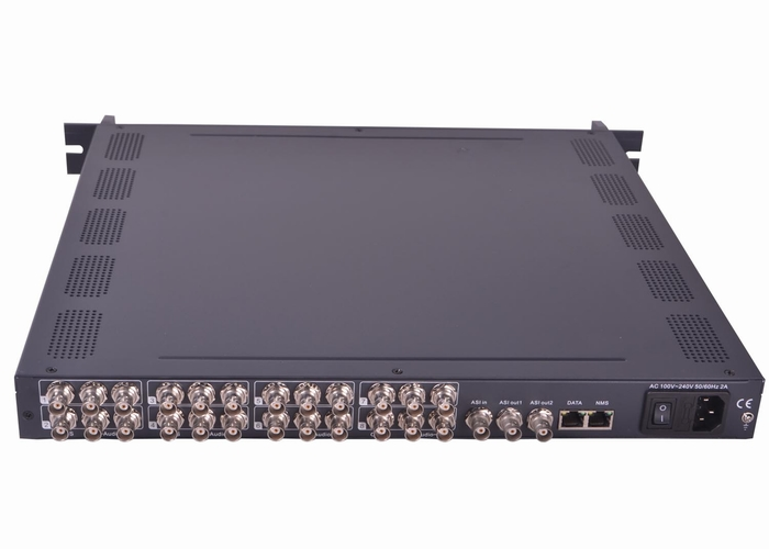 SFT3208A MPEG2 Encoding 8 in 1 IP Output Encoder