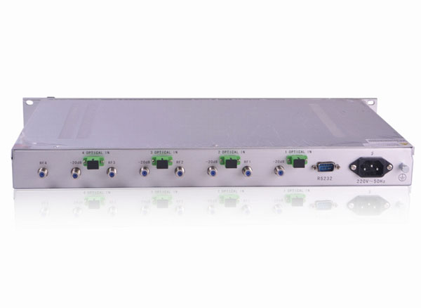 5~200Mhz 4 way Return Path Optical Receiver